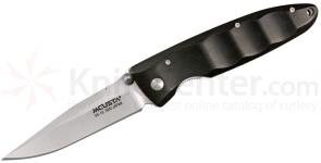 Mcusta MC-2 Series Basic Folder w/ African Ebony Wood Handle, Plain