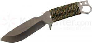 Medford 1911 Bowie Fixed 5-1/4 inch S35VN Satin Plain Blade, Multi Cam Handle, Coyote Kydex Sheath