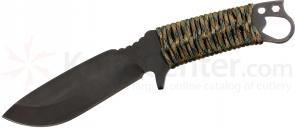 Medford 1911 Bowie Fixed 5-1/4 inch S35VN Black Plain Blade, Multi Cam Handle, Coyote Kydex Sheath