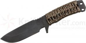 Medford FM1 Field Master Fixed 4-1/2 inch Black D2 Plain Blade, Desert Camo Handle, Camo Kydex Sheath