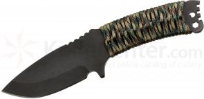 Medford NAV-T Tactical Fixed 4 inch D2 Plain Blade, Multi Cam Handle, OD Green Kydex Sheath