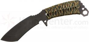 Medford TS2 Tactical Service Sniper Fixed 5-1/5 inch Black D2 Plain Blade, Multi Cam Handle, OD Green Kydex Sheath