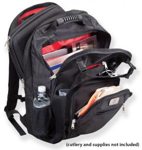Mercer Cutlery M30600M Knife Pack Plus Cutlery Backpack and Knife Case
