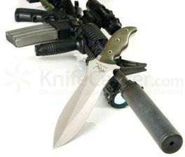 Mercworx Proeliator Double Edged Combat Knife 9.25 inch S30V Blade Chili Pepper Handle