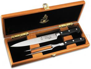 Messermeister Meridian Elite 2 Piece Carving Set in Wooden Box