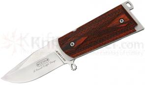 Meyerco Darrel Ralph 45 Knife Assisted 3-3/8 inch Satin Blade, Wood Handles