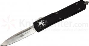 Microtech 121-10 Ultratech AUTO OTF 3.46 inch Stonewash Plain Blade, Aluminum Handles