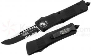 Microtech 139-2 Troodon AUTO OTF 3.06 inch Black Combo Drop Point Blade