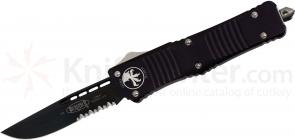 Microtech 143-2 Combat Troodon AUTO OTF 3.75 inch Black Combo Blade