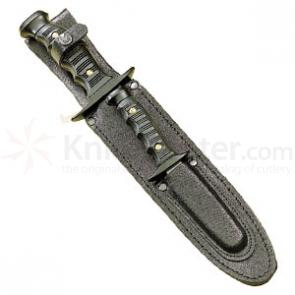Muela 7221 Kangaroo Leather Sheath with Two Knives Made in Spain
