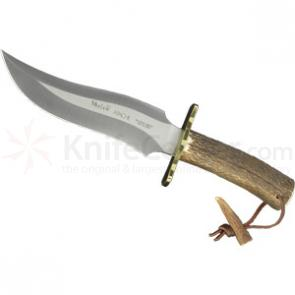 Muela APACHE Stag Handled Skinner, Tactical Style 7.5 inch Blade