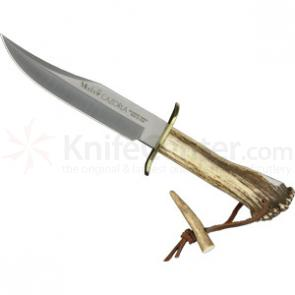 Muela CAZ-16 Stag Handled Bowie Blade Hunting Knife from Spain
