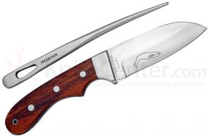 Myerchin A200 Offshore System Fixed 3-3/4 inch Plain Blade and 7 inch Marlin Spike, Nylon Sheath