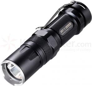 NITECORE SmartRing Tactical SRT3 Defender AA/CR123 LED Flashlight, Gray, 550 Max Lumens