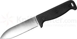 Ontario Blackbird SK-5 Wilderness Survival Knife 5 inch Satin Blade, Black G10 Handles