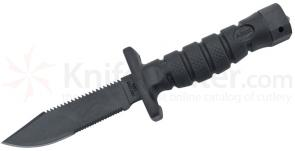 Ontario ASEK Survival Knife System 5 inch Blade, Strap Cutter, Sheath (1400)