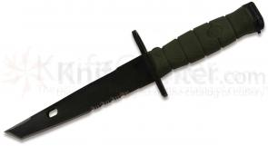 Ontario OKC-10 Tanto Bayonet System 12-1/2 inch Overall, Black, MOLLE Kydex Sheath