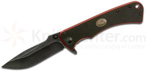 Outdoor Edge Divide Frame Locking Folding Knife 3-1/2 inch Blade, G10 Handles