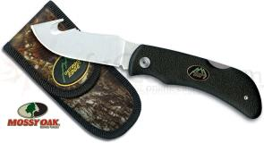 Outdoor Edge Grip Hook Folding Skinner 3.2 inch Blade, Kraton Handles