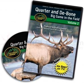 Outdoor Edge DVD Volume 2: Quarter and Debone Big Game in the Field