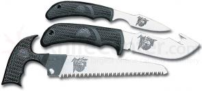 Outdoor Edge Kodi-Pak Three Knife Hunter's Set with Sheath