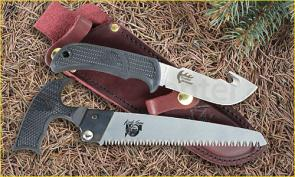 Outdoor Edge Trophy Pak with Saw and Gut Hook Skinner 2 Piece Hunting Set