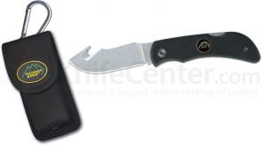 Outdoor Edge Pocket-Hook 3.2 inch Gut Hook Blade with G10 Handle and Nylon Sheath