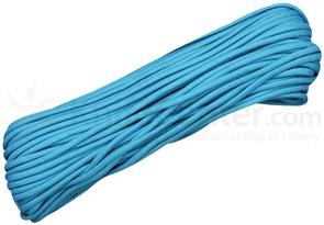 550 Paracord, Neon Turquoise, 100 Feet