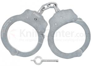 Peerless PH700B Chain Link Handcuff, Nickel