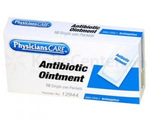PhysiciansCare Brand Triple Antibiotic Ointment, 10/box