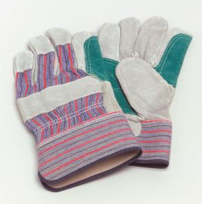 PhysiciansCare Brand Leather Palm Gloves