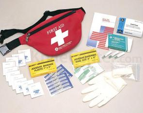 PhysiciansCare Brand Fanny Pack First Aid Kit: 47 Pieces
