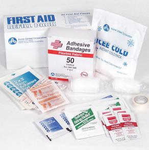 PhysiciansCare Brand First Aid Refill Kit - 94 Pieces