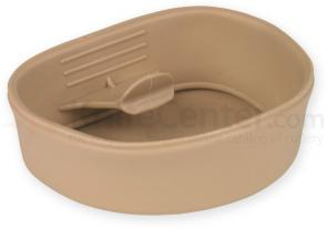 Wildo Small Fold-A-Cup Lightweight Camping Cup, Tan