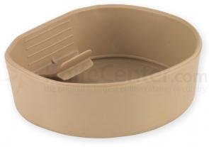 Wildo Large Fold-A-Cup Lightweight Camping Cup, Tan