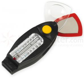 NDuR 6-in-1 Survival Compass with Thermometer and Whistle