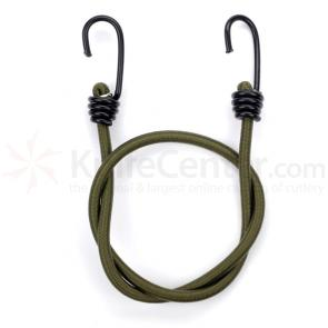 Proforce Heavy Duty Bungee Cords Olive 4 Pack