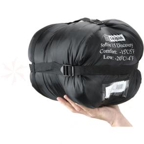 Snugpak Softie 15 Discovery Black Left Hand Zip
