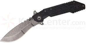 Quartermaster QSA-1cc Boss Hog 4.25 inch Carbon Copy Kukri Style Blade, G10 and Stainless Steel Handles
