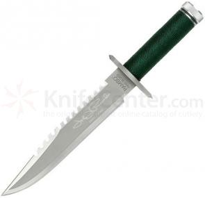 Rambo First Blood Sylvester Stallone Signature Edition 9 inch Blade, Leather Sheath