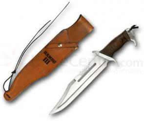 Rambo III Standard Edition 13 inch Blade, Leather Sheath