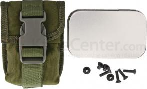 ESEE Knives ESEE-5 and ESEE-6 Accessory Pouch, Olive Drab