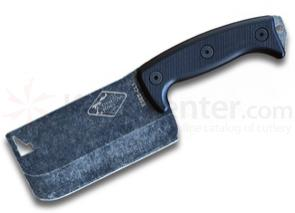 ESEE Knives ESEE-CL1 Expat Knives Cleaver, Black G10 Handles, 11.5 inch Overall
