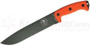 ESEE Knives Junglas Machete 10.38 inch OD Green Blade, Orange G10 Handles, Kydex Sheath