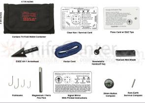 ESEE Izula Gear Wallet E&E Mini Survival Kit