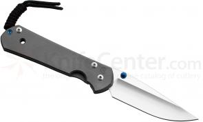 Chris Reeve Left Handed Large Sebenza 21, 3.625 inch S35VN Blade, Titanium Handle