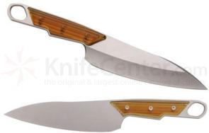 Chris Reeve Sikayo 6.5 inch Kitchen Chef's Knife, S35VN Stonewashed Blade, UItem 1000 Handles