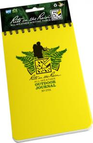 Rite in the Rain Universal Polydura Outdoor Journal, 4 inch x 6 inch, Yellow