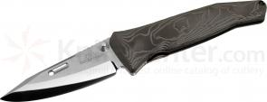 Rockstead SAI-ZDP Japanese Folding Knife 3.125 inch ZDP-189/VG10 Mirror Finish Blade, Black Titanium Handles
