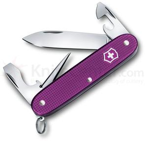 Victorinox Swiss Army Pioneer Alox Orchid Violet Limited Edition 2016 Multi-Tool, 3.5 inch Closed